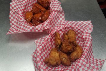Our own wing dings and barbeque wings