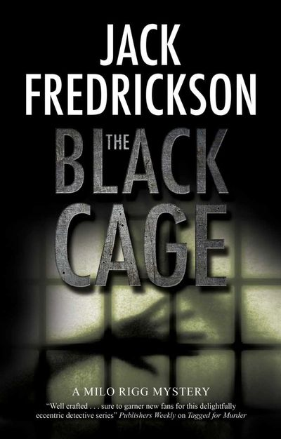 The Black Cage novel cover