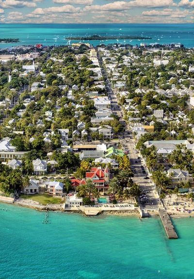 World Famous Duval Street in Key West, FL