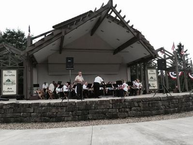 Boardman Park with Friends Somerset Community Band 2011