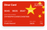 CNY Currency DinarPAY Card