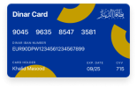 Euro Currency DinarPAY Card