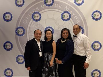 TOFA was a participant at the first annual Elk Grove Mayor's Ball on Tuesday, December 4th. Mayor St