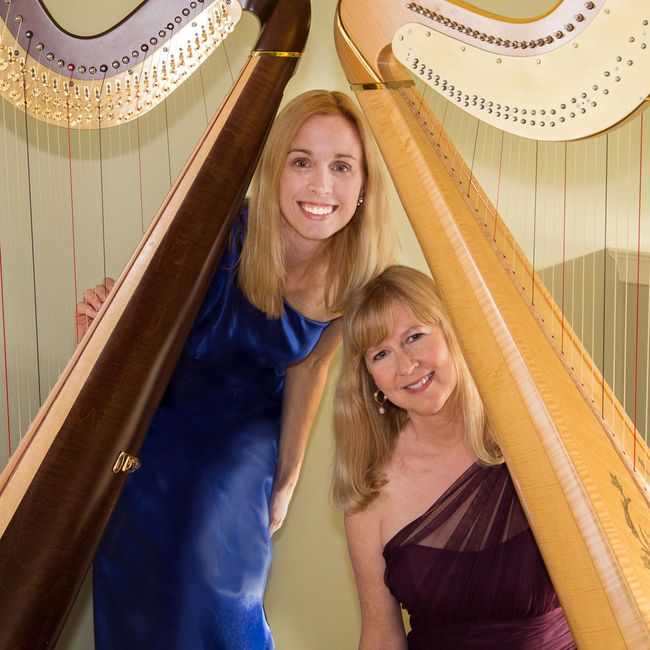 Principally Harps is the harp duo of Mindy Cutcher and Janet Witman