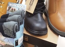 Work Boots in Alnwick Safety boots in Alnwick portwest work  boots  steel toecap work boots