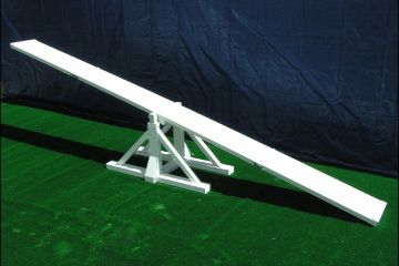 USDAA approved seesaw for dog agility K9 obstacle course equipment