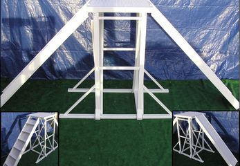 USDAA approved high platform for dog agility K9 obstacle course equipment