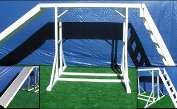 USPCA approved cat walk with ladder and ramp K9 obstacle police dog agility training equipment