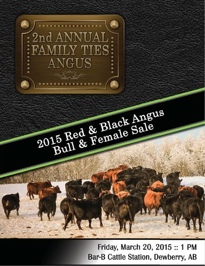 2015 Family Ties Angus 2nd Annual Bull & Heifer Sale