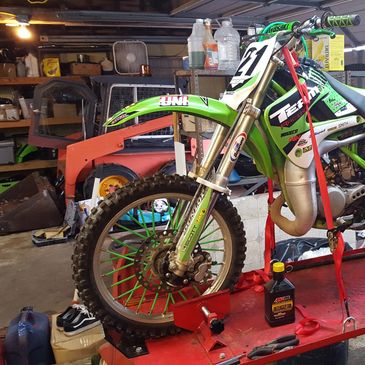 Dirt bike repair Cycle repair