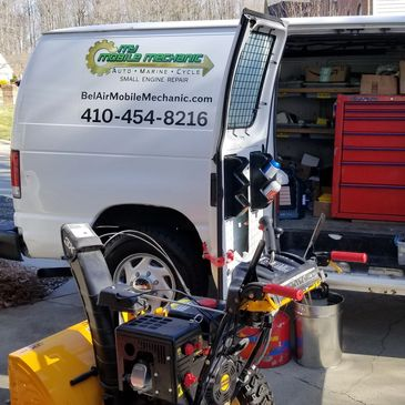 Mobile lawn mower repair Mobile snowblower repair, snowblower repair mobile dirtbike,  ATV, Polaris