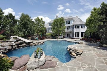Pool construction company offers remodeling.