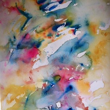Changing Perspectives Abstract watercolor