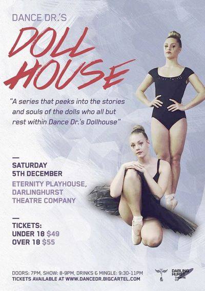 dance performance Sydney company contemporary youth poster art ballet photography