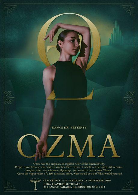 dance company performance art youth ballet contemporary lyrical Sydney photography poster ozma