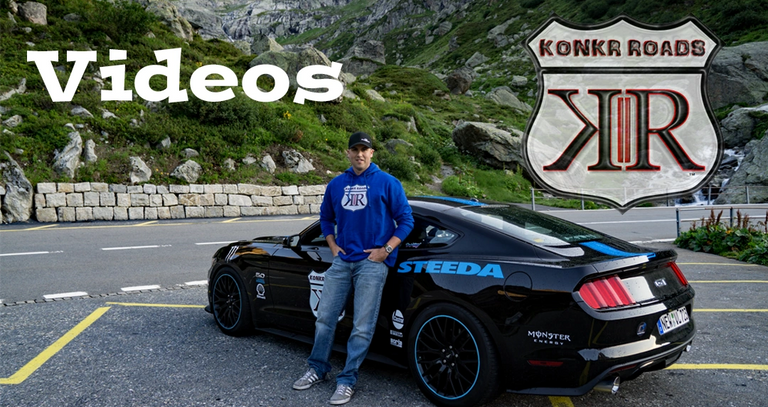 Road review videos Konkr Roads Roadway 5.0 Mustang