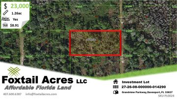 Polk Land PolkLand.com FoxtailAcres.com Polk County Florida Affordable Florida Land