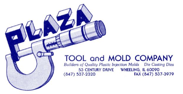 Plaza Tool and Mold Co.