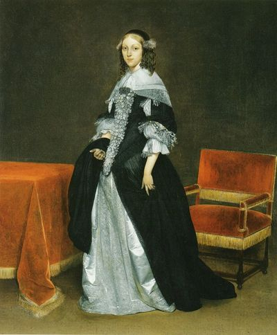 Gerard ter Borch, Portrait of a Young Woman
