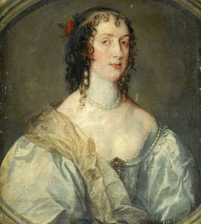 Olivia  Boteler Maria, lady in waiting to Henrietta Maria, by Anthony van Dyck