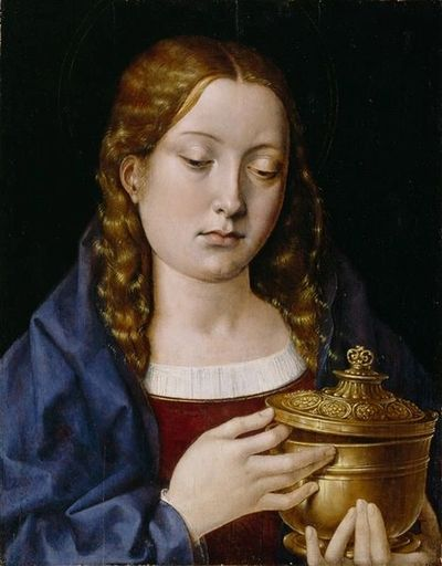 Michael Sittow, Catherine of Aragon as Mary Magdaline