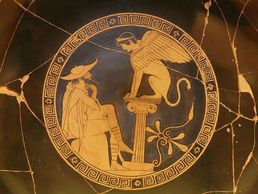 Oedipus and the Theban Sphynx