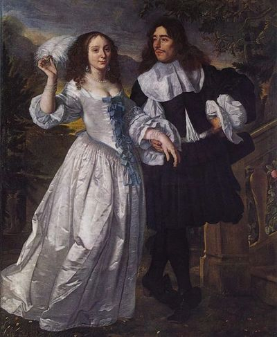 van der Helst, Portrait of an unknown couple