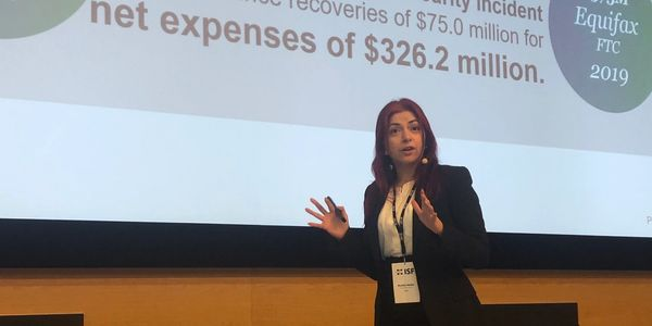 Monica talks at the ISF conference on cybersecurity and risk management as business differentiators.