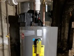 power vent water heater