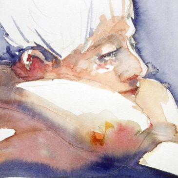 This is a 30 minute watercolor sketch done probably 10 years ago. It's one of my all time favorites.