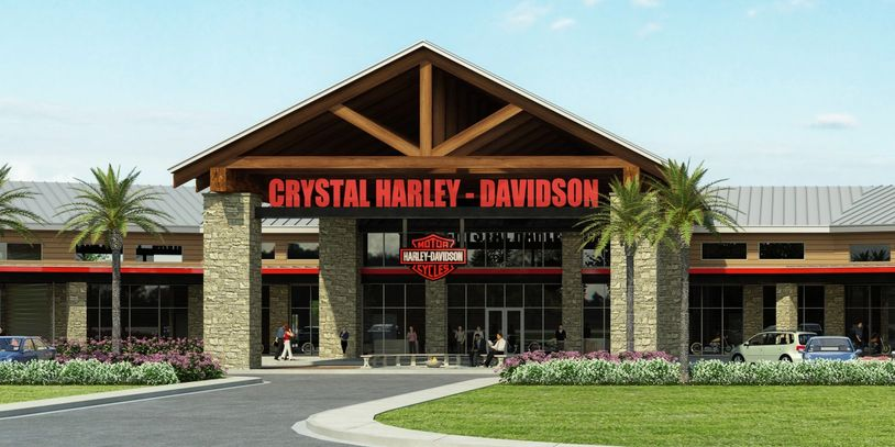 Image of the Crystal Harley store in Homosassa Florida