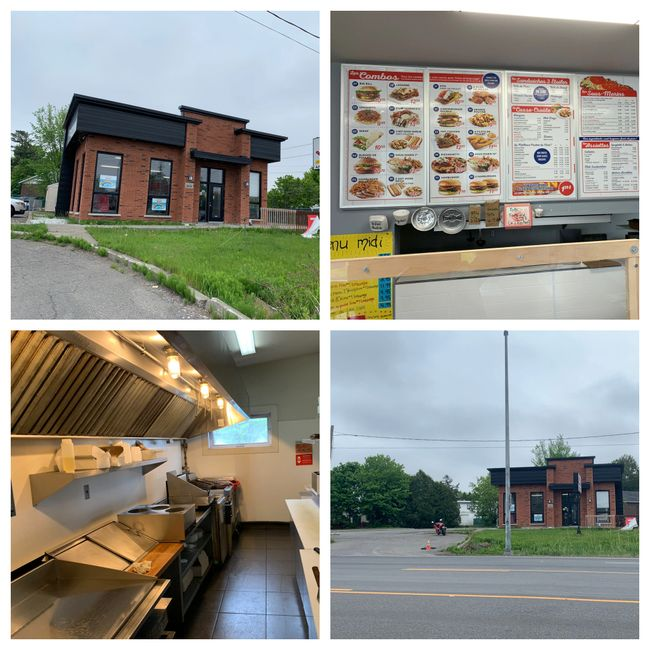 Restaurant with Commercial building , hot dogs subs and pizza excellent profits great investment