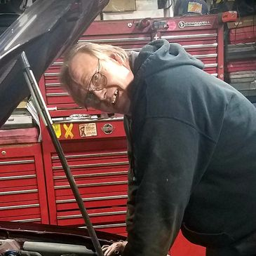 Lead Master Technician & Shop Foreman of Ernie's Garage, Body Shop & Towing!