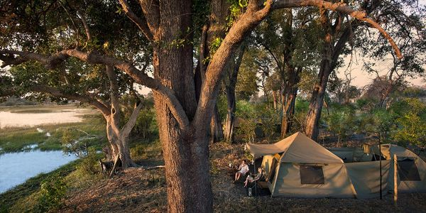 Superior Explorer Expedition, andBeyond Botswana Mobile Camping Expeditions, Okavango Delta