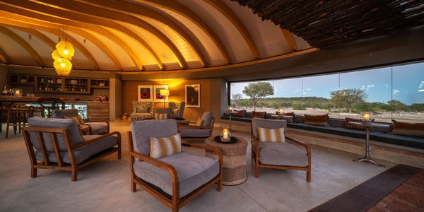 Anderssons Camp at Ongava Game Reserve, Etosha, Namibia