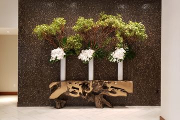 Lobby Centerpieces and decor