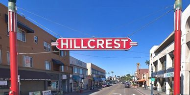 The famous Hillcrest sign. Credit: Google Maps