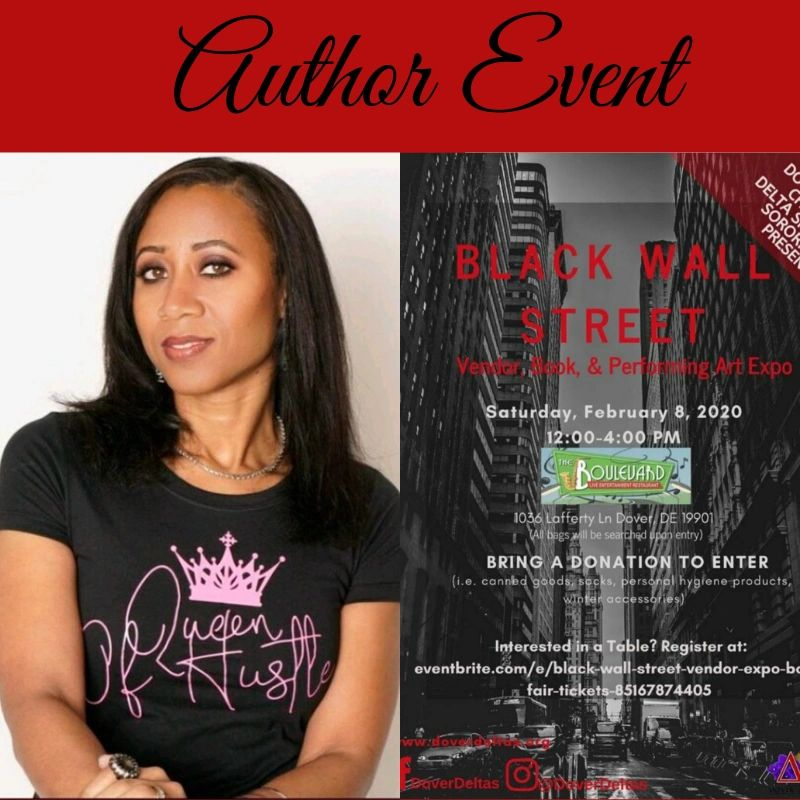 Author event flyer