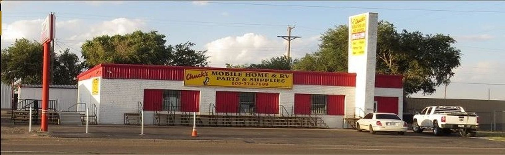 Amarillo Mobile Home and RV Parts and Supply, Chucks Mobile Home and RV Supply. Amarillo Texas
