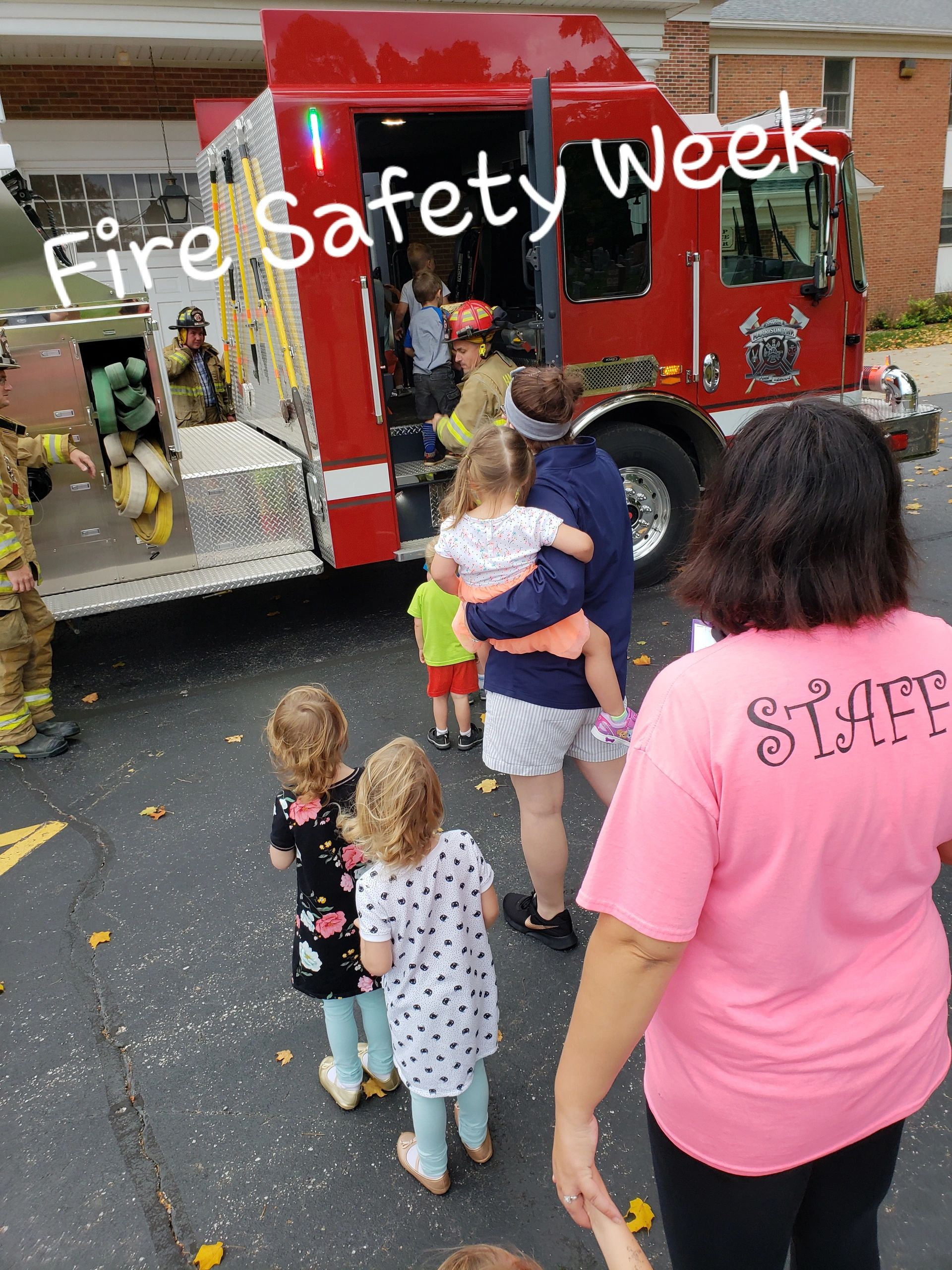 "{""blocks"":[{""key"":""9r059"",""text"":""Every year we participate in Fire Safety week and the kiddos Love It! "",""type"":""unstyled"",""depth"":0,""inlineStyleRanges"":[],""entityRanges"":[],""data"":{}}],""entityMap"":{}}"