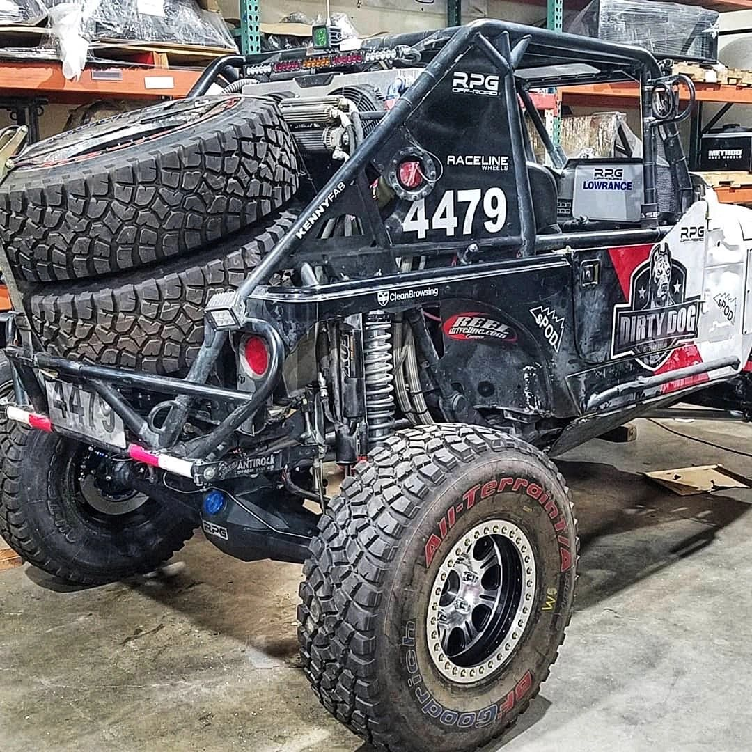 """New 4"""" SpiderTrax Axle built by RPG OffRoad"""