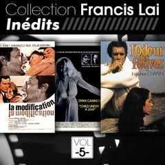 "Francis Lai,""Inédits"", Unpublished tracks, produced by Play-Time, a division of FGL PRODUCTIONS"