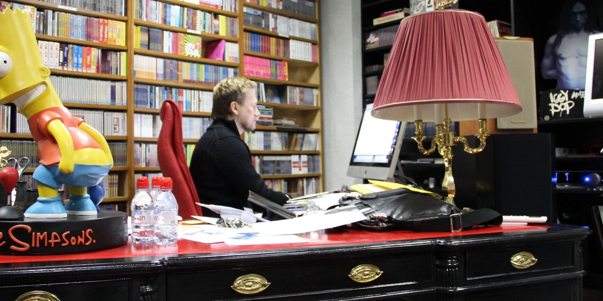 Thierry WOLF, FGL at work, FGL Office Paris France, Chairman Thierry WOLF