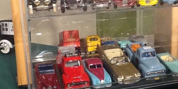 Collectible Dinky cars