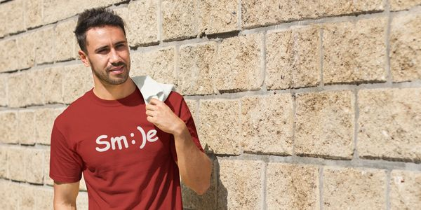 Mens Smile shirt