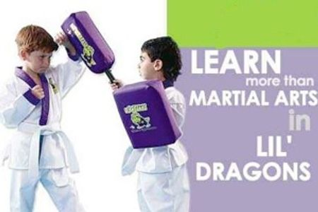 4 & 5 year old martial arts