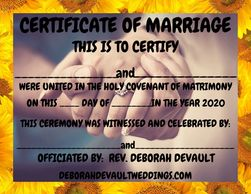 engaged couple hands (ex 3.), keepsake certificates of marriage available in my FB store beginning N