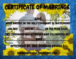 sunflower/couple (ex 5), keepsake certificates of marriage available in my FB store beginning Nov 15