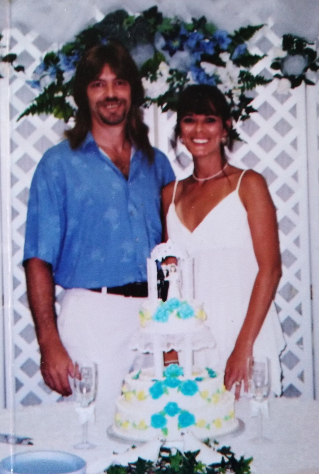 ME AND BILLS WEDDING PICTURE IN PALATKA, FLORIDA