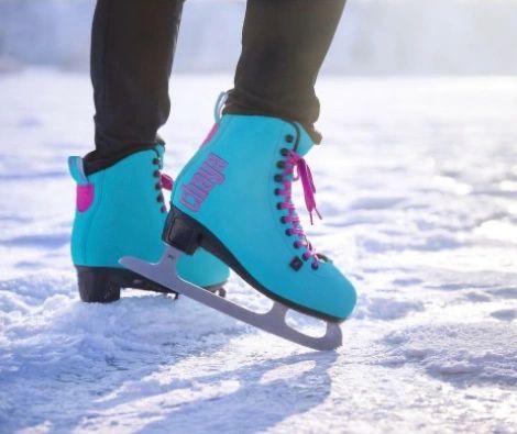 Chaya Ice Skates Classic Turquoise Powerslide Damen Schlittschuhe
